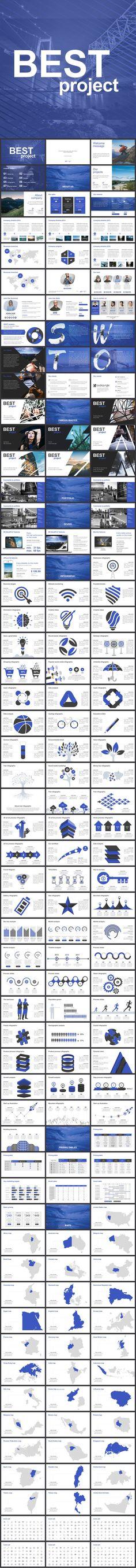 Best Project Google Slides Template - Google Slides Presentation Templates