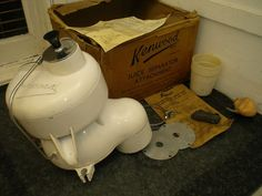 Didn't win VINTAGE KENWOOD JUICE SEPARATOR BOXED EXCELLENT CHEF A700
