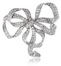Ben-Amun Jewelry Swarovski Crystal Bow Brooch ** Be sure to check out this awesome product. (This is an Amazon Affiliate link and I receive a commission for the sales)