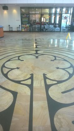 Entering the center of the eleven circuit Chartres labyrinth at Palazzo Verde outside of Denver, CO...BEAUTIFUL