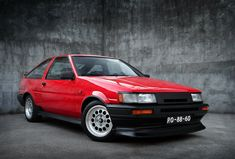 Toyota AE86 Levin. I think it would be nicer in white though...