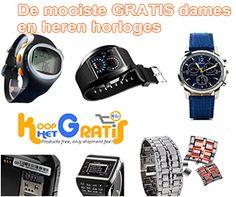 Gratis Horloges Voor Dames En Heren - Gratis Prijzen Winnen