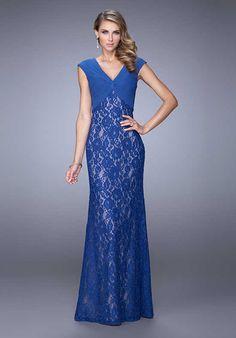La Femme Evening 21681 Mother Of The Bride Dress