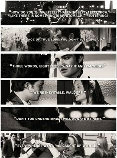 <3 gossip girl OMG ily. Just started researching entire series again <3