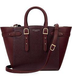 Marylebone medium Saffiano leather tote
