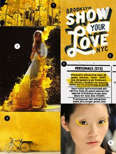 Mellow Yellow: Mood Board