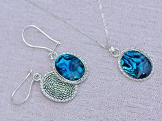 Ocean1 Earring & Necklace No matter how many by gejewellery