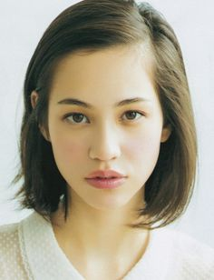 Audrie Kiko Daniel born 15 October 1990 known professionally as Kiko Mizuhara Mizuhara Kiko is a model actress and designer who has lived in Ja Short Hairstyles 2015, Pretty Hairstyles, Bob Hairstyles, Short Haircuts, Hair Inspo, Hair Inspiration, Story Inspiration, My Hairstyle, Pretty Face