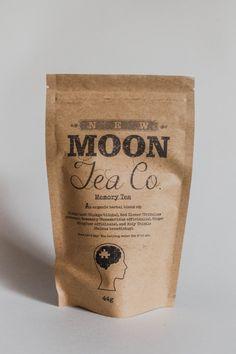 IMPROVED - Memory Tea - Organic loose leaf tea by New Moon Tea Co. on Gourmly