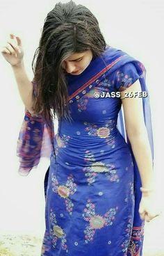 Indian Dresses For Women, Indian Girls Images, Stylish Girl Images, Stylish Girl Pic, Beautiful Girl Indian, Most Beautiful Indian Actress, Punjabi Dress, Punjabi Girls, Dehati Girl Photo