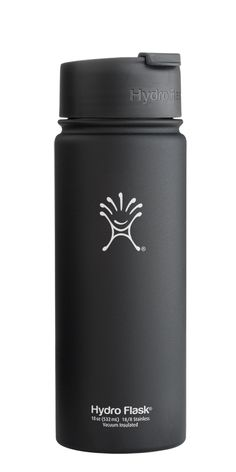 Hydro Flask   Hydro Flask - Insulated Stainless Steel Coffee, Tea and Water Bottle - 18 oz (Medium) - Wide Mouth with Flip Cap