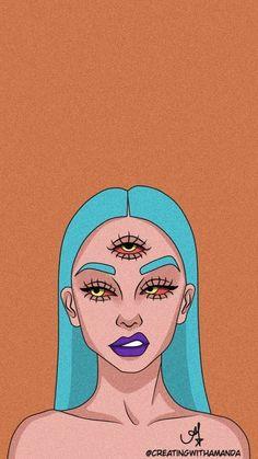 Pop Art Girl Crying - Red - Canvas Wall Art - Pop Art Girl Crying – Red – Canvas Wall Art Estás en el lugar correcto para Populares bedroom A - Arte Dope, Dope Art, Cartoon Kunst, Cartoon Art, Trippy Drawings, Art Drawings, Pop Art Drawing, Cartoon Wallpaper, Pop Art Girl Crying