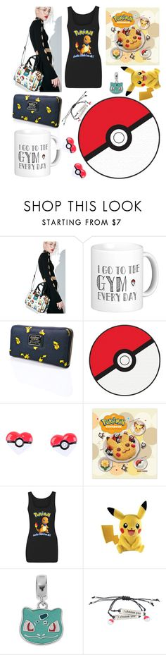 """Pokemon Set! (1)"" by madame-taylor ❤ liked on Polyvore featuring Loungefly and Nintendo"