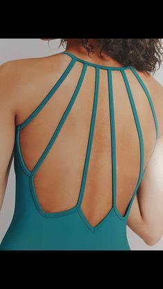 Back neckline backless - Bademode Ballet Costumes, Dance Costumes, Dress Neck Designs, Blouse Designs, Figure Skating Dresses, Dance Leotards, Classy Dress, Dance Dresses, Dance Wear