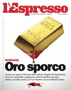 La copertina dell'Espresso in edicola venerdì 31 luglio