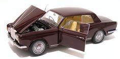 1968 Rolls Royce Silver Shadow 2 Door Coupe Mulliner Park Ward design   Paragon 98204R scale 1:18