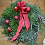 WeihnachtsZauber 2016 | Türkranz Christmas Wreaths, Holiday Decor, Organic Farming, Home And Garden, Plants, Xmas, Christmas Swags, Christmas Garlands