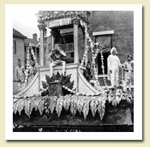 Mobile AL Mardi Gras history.  These party people got started in 1699!