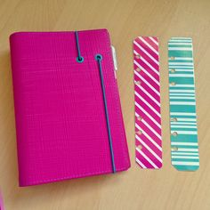 Pink Personak Apex Filofax starter kit by JustKeepPinning on Etsy