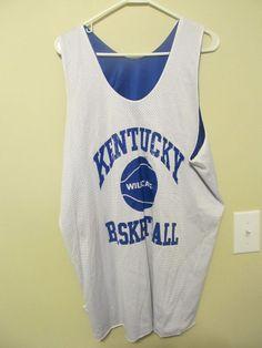 VTG. Kentucky Wildcats Reversible Practice Basketball jersey - Champion Adult XL #Champion #KentuckyWildcats