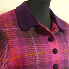 100/% Wool Authentic Traditional Scottish Tweed Neck Tie Glen Nevis