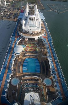 Quantum of the Seas claims to be the most hi-tech cruise ship in the world