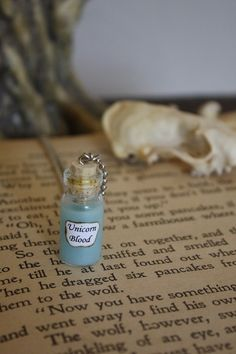 Unicorn Blood Vial Necklace