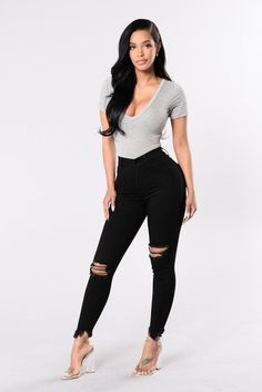 Well Played Jeans - Black