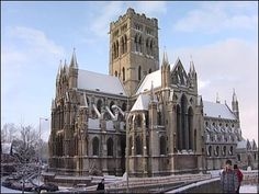 The Roman Catholic Cathedral in Norwich. Norwich is blessed by having 2 Cathedrals.