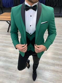 Prom For Guys, Prom Suits For Men, Mens Suits, Guys In Suits, Blue Slim Fit Suit, Slim Fit Tuxedo, Man In Tuxedo, Men's Tuxedo, Mens Fashion Wear