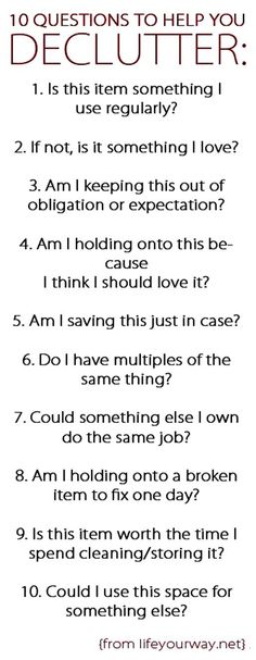 Here are 10 questions to ask yourself as you evaluate the items in your home and make tough decluttering decisions. One aspect of having a simple home is to keep it free from clutter. While there are varying degrees of this and not everyone chooses to live a minimalist lifestyle, there's no way to get […]