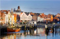 Hafenstadt Husum / Nordsee Schleswig-Holstein (Foto: Foto Oliver Franke)