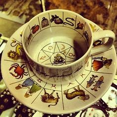 fortune tea cup