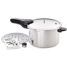 Aluminum Pressure Cooker 8 Quart Steamer Kitchen Pot Fast Cooking Utensil Presto