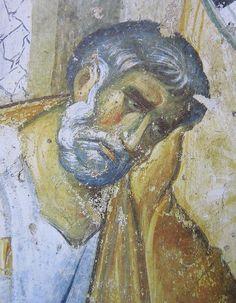 Святой Апостол Пётр. Фрагмент фрески