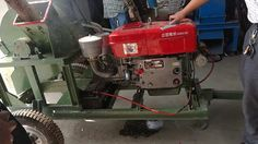 Henan Strongwin diesel engine wood crusher machine