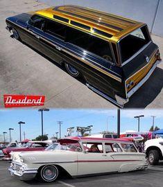 Love these wagons. Lo Rider, Hydraulic Cars, Kustom Kulture, Car Painting, Station Wagon, Amazing Cars, Impala, Old Cars, Custom Cars