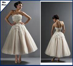 Brautkleid 50ger jahre Jessy von whitebridal auf DaWanda.com