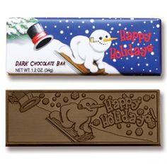 Happy Holidays 2x 5 Chocolate Bar