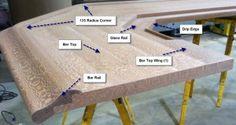 Hardwoods Incorporated is your one stop bar building shop. We have a variety of bar building parts