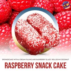 If you haven't tried Raspberry Snack Cake, you are missing out. #tastyvapor #ejuice #vape