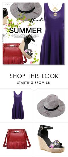 """""""Top It Off: Summer Hats"""" by svijetlana ❤ liked on Polyvore featuring polyvoreeditorial, summerhat and twinkledeals"""