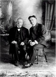 Davenport and Houdini #Magic #magician #Illusion