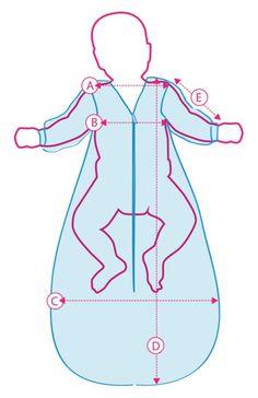Welche Größe für den Babyschlafsack ist die Richtige - hier findet Ihr hilfreiche Informationen über die ideale Größe für jedes Alter