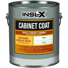 CabinetCoat 1-qt. White Satin Trim and Cabinet Enamel-CC4510 at The Home Depot