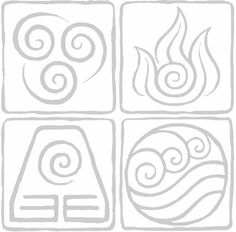 Four Nations | Air, Fire, Earth, and Water