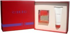 Chic Eau de Parfum 1.7 oz + 2.5 oz Lotion by Carolina Herrera Perfume Gift Set for Women by Carolina Herrera Chic. $28.90. Carolina Herrera Perfume Gift Set for Women. Chic 2.5 oz Perfumed Body Lotion 2.5 oz / 75ml. Chic Eau de Parfum 1.7 oz / 50ml. Carolina Herrera Perfume Gift Set for Women Chic Eau de Parfum 1.7 oz / 50ml + Chic 2.5 oz Perfumed Body Lotion 2.5 oz / 75ml