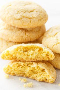 Meyer Lemon Olive Oil Sugar Cookies | loveandoliveoil.com