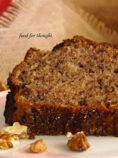 Food for thought: Κέικ Μήλου Greek Sweets, Greek Desserts, Greek Recipes, Sweets Recipes, Fruit Recipes, Cake Recipes, Cooking Recipes, Cupcakes, Cupcake Cakes