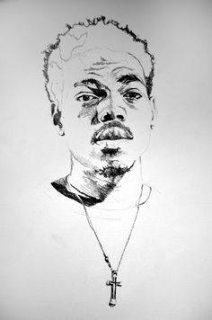 Chance the Rapper Pencil Drawing on Behance